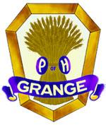 Halcyon Grange Blue Hill Maine logo